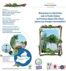 ADEME PACA - Réunions Fonds Chaleur